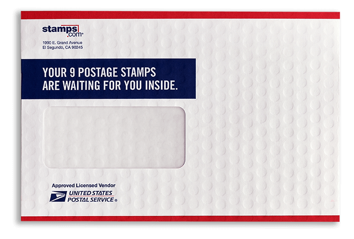 USPS Envelope with an overall emboss
