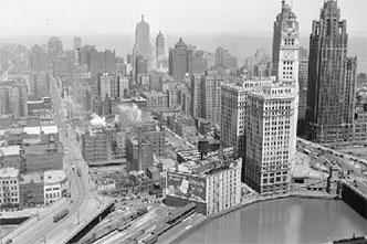 Chicago circa 1940