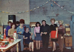 Christmas party 1973