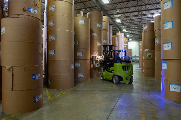 Our climate controlled warehousing