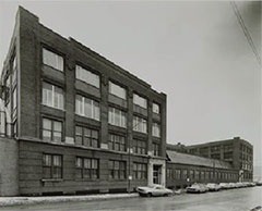 New location on West 35th Street, one mile west of Comiskey Park, 1964